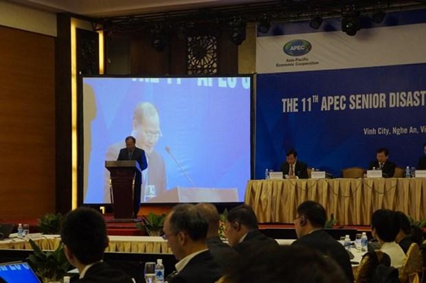 APEC: 11e conference des hauts officiels sur la gestion des catastrophes naturelles a Vinh hinh anh 1