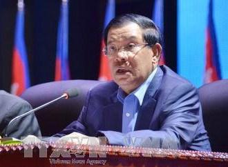 Le PM cambodgien apprecie les relations avec le Vietnam hinh anh 1