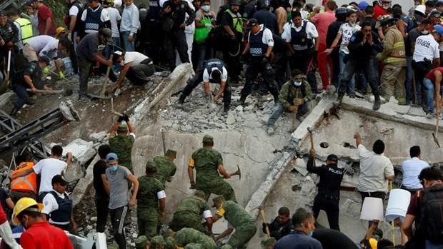 Seisme au Mexique : Message de condoleances du Vietnam hinh anh 1