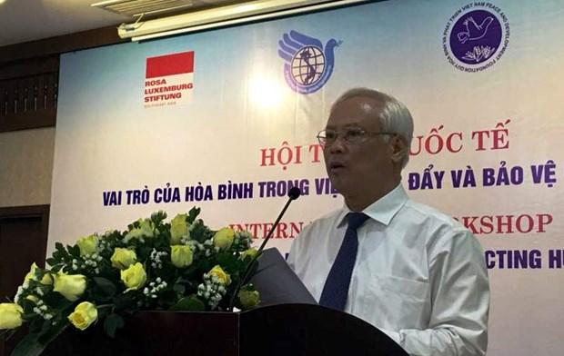 Colloque international sur le role de la paix dans la protection des droits de l'homme hinh anh 1