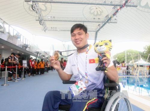 ASEAN ParaGames : le Vietnam etablit de nouveaux records hinh anh 1