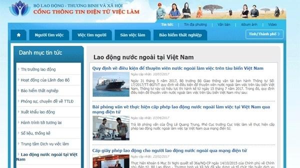 Le permis de travail pour les etrangers au Vietnam sera delivre en ligne a partir d'octobre prochain hinh anh 1