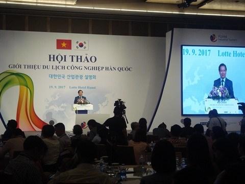 Vietnam et Republique de Coree cooperent dans le tourisme industriel hinh anh 1