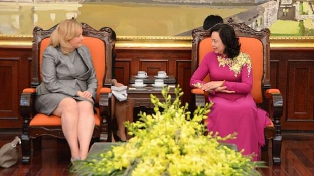 Renforcer la cooperation entre Hanoi et Dublin hinh anh 1