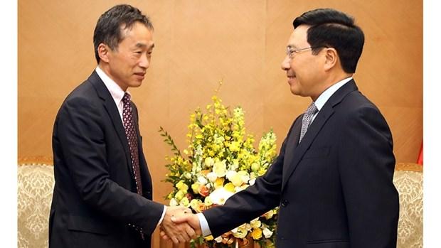 Vietnam-Japon : Pham Binh Minh se felicite du role de la JICA hinh anh 1
