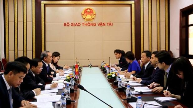 Vietnam et Japon cooperent dans les transports hinh anh 1