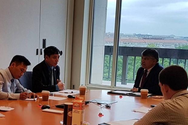 Vietnam et Etats-Unis intensifient les relations syndicales hinh anh 1