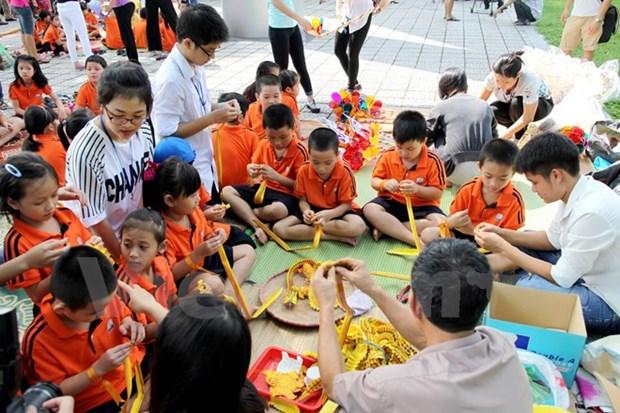 A la decouverte de la Fete de la mi-automne au Musee d'ethnographie de Hanoi hinh anh 1