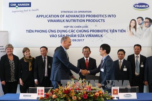 Chr. Hansen aide Vinamilk a developper les probiotiques hinh anh 1