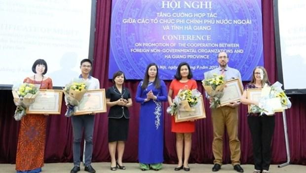 La province de Ha Giang appelle a un soutien accru des ONG etrangeres hinh anh 1