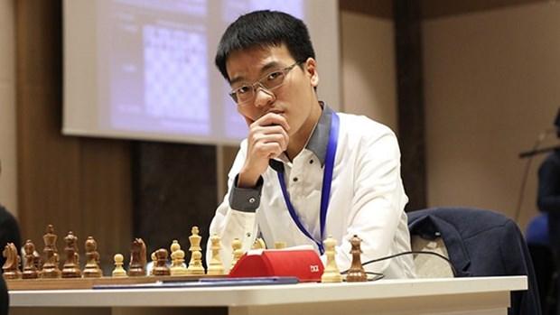 Le Quang Liem remporte le tournoi d'echecs des AIMAG hinh anh 1