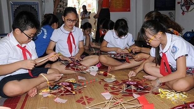 La Fete de la mi-automne 2017 dans la cite imperiale de Thang Long hinh anh 1