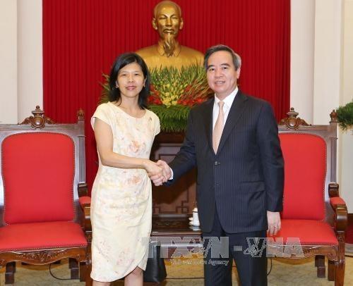 Developper la cooperation economique entre le Vietnam, le Canada et la France hinh anh 1
