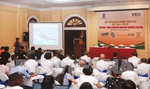 Le Vietnam et l'Inde cooperent dans la construction navale hinh anh 1
