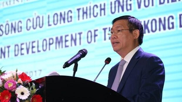 Ouverture de la Conference sur le developpement durable du delta du Mekong hinh anh 1