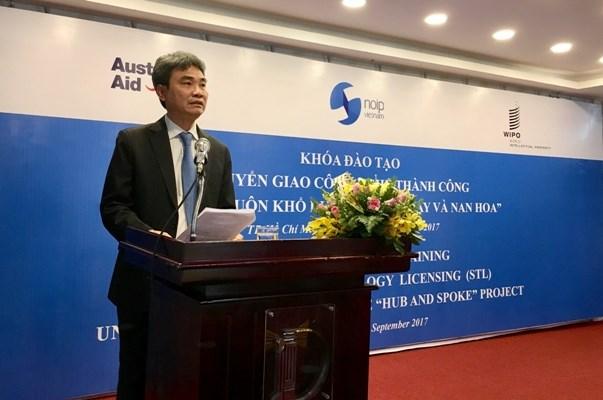 L'OMPI soutient le Vietnam dans le developpement de la propriete intellectuelle hinh anh 1