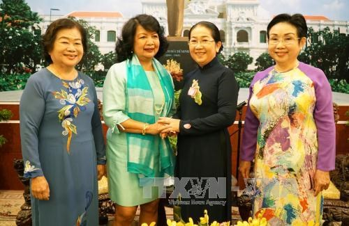 Les femmes de Ho Chi Minh-Ville contribuent a assurer l'egalite des sexes hinh anh 1