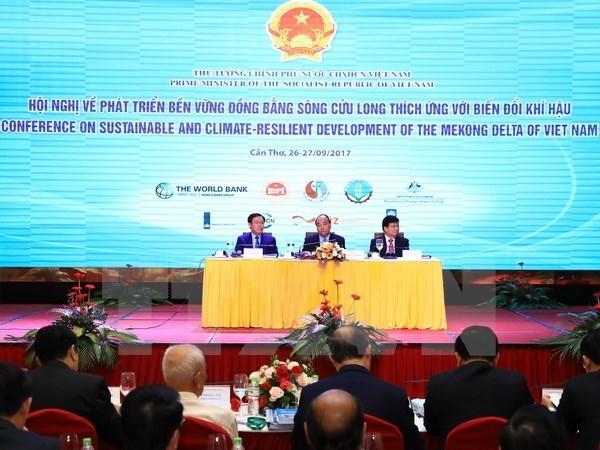 Le gouvernement decide de developper durablement le delta du Mekong hinh anh 1