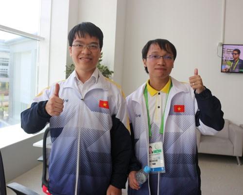 Le Vietnam remporte une autre medaille d'or en echecs a AIMAG 5-2017 hinh anh 1