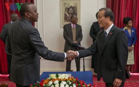 Kenya souhaite impulser la cooperation avec le Vietnam hinh anh 1