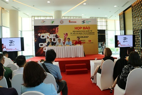 Six mille athletes attendus au marathon Techcombank a Ho Chi Minh-Ville hinh anh 1
