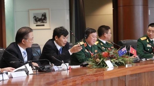 Dialogue Vietnam-Australie sur la diplomatie et la defense hinh anh 1