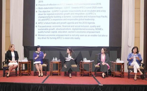 APEC : renforcer le pouvoir d'action des femmes hinh anh 1