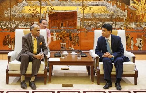 TIC : l'Inde va financer un projet a Hanoi hinh anh 1