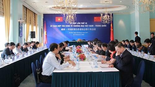 Les relations commerciales Vietnam-Chine continuent de se developper fortement hinh anh 1