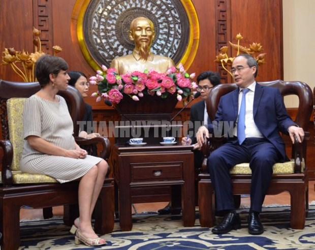 Les entreprises italiennes souhaitent investir a Ho Chi Minh-Ville hinh anh 1