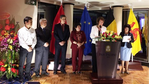 Les fetes officielles de Wallonie-Bruxelles celebrees a Hanoi hinh anh 1