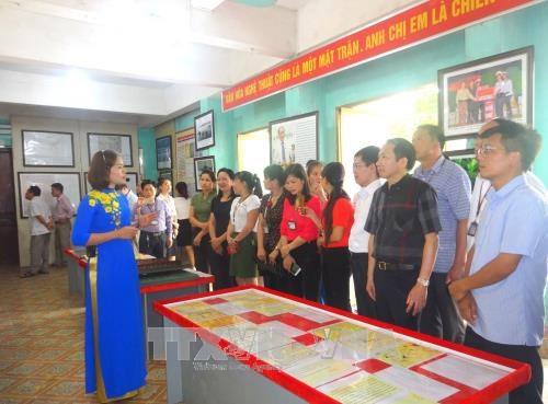 Exposition sur les archipels de Hoang Sa et Truong Sa a Ha Giang hinh anh 1