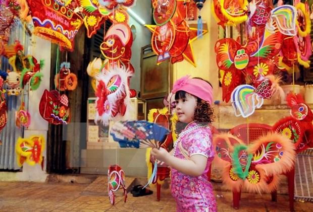 Fete de la Lune pour les enfants a Hanoi hinh anh 1