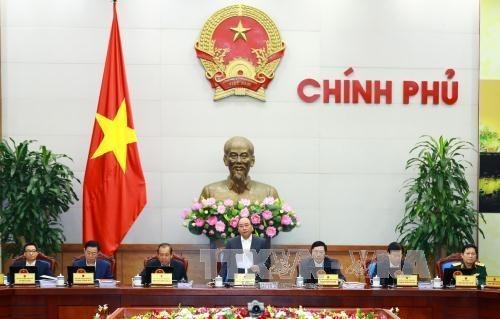 La reunion periodique de septembre du gouvernement hinh anh 1