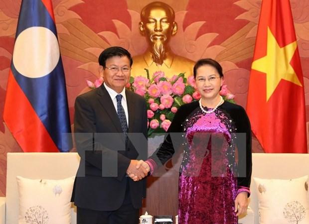 Developpement des relations Vietnam-Laos hinh anh 2