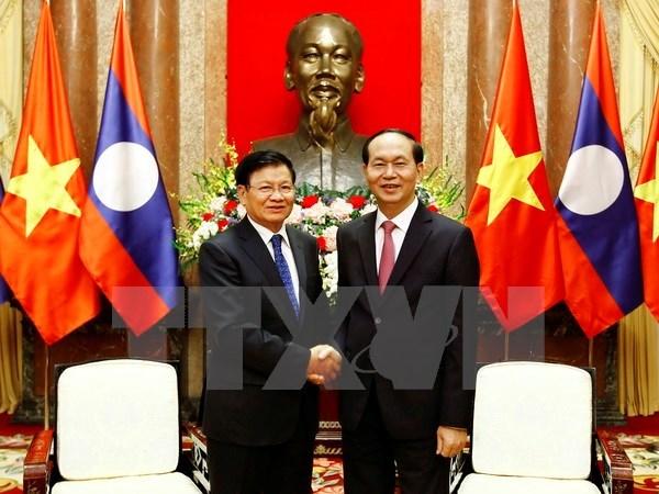 Developpement des relations Vietnam-Laos hinh anh 1