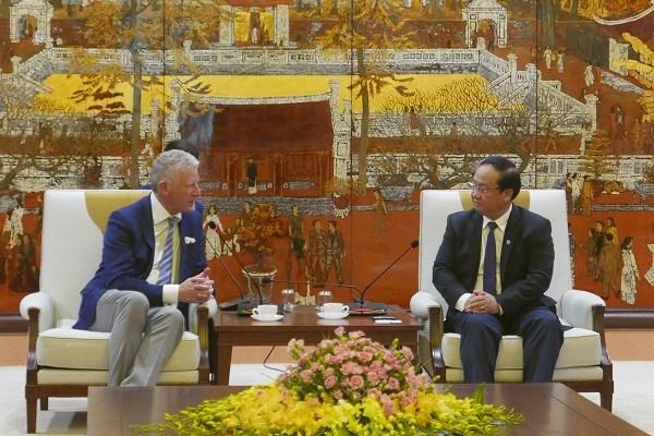 Promouvoir la cooperation entre Hanoi et les localites belges hinh anh 1