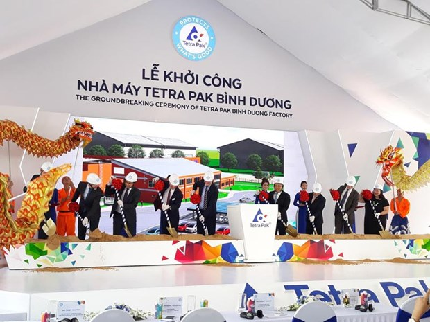 Mise en chantier d'une usine d'emballages de Tetra Pak a Binh Duong hinh anh 1