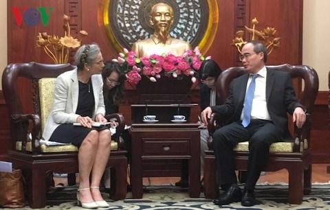 Les Pays-Bas sont prets a soutenir Ho Chi Minh-Ville face au changement climatique hinh anh 1
