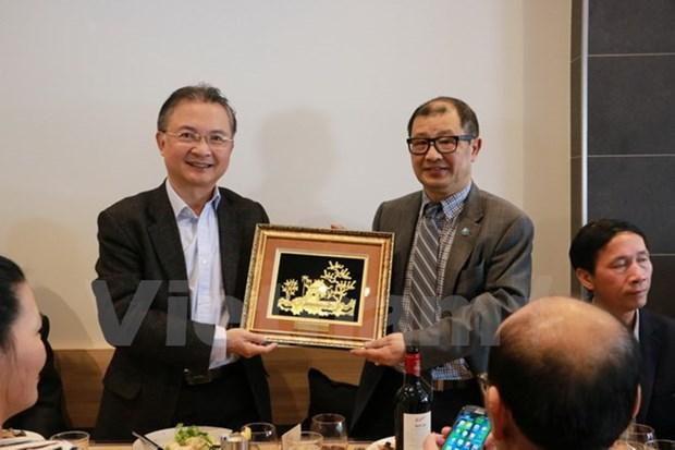 Des hommes d'affaires vietnamiens en Australie contribuent a la diplomatie economique hinh anh 1