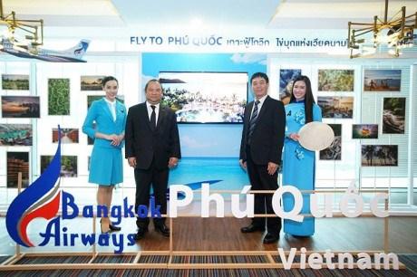 Inauguration de la ligne aerienne Bangkok-Phu Quoc hinh anh 1