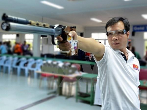 Tir : Hoang Xuan Vinh reste le roi au pistolet a 10m hinh anh 1