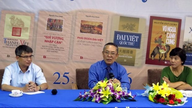 Des livres sur le Vietnam au 18eme siecle remportent un prix hinh anh 1
