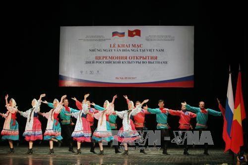 Ouverture des Journees culturelles de Russie au Vietnam hinh anh 1