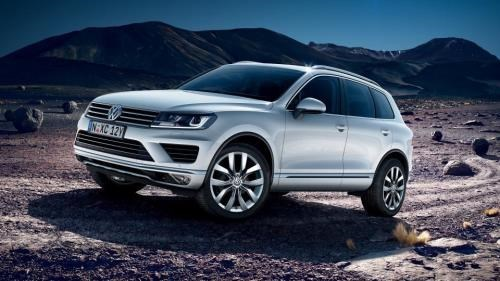 Volkswagen presentera neuf modeles au Vietnam International Motorshow 2017 hinh anh 1