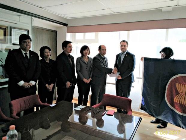 La communaute de l'ASEAN appuie les victimes des tremblements de terre au Mexique hinh anh 1