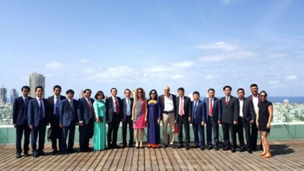 Hanoi promeut la cooperation dans de nombreux domaines avec Israel, l'Irlande et le Royaume-Uni hinh anh 1