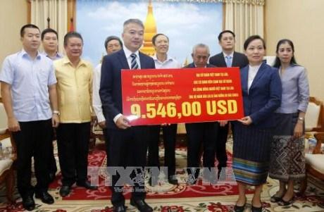 Typhon Sonca: au chevet de la population laotienne sinistree hinh anh 1