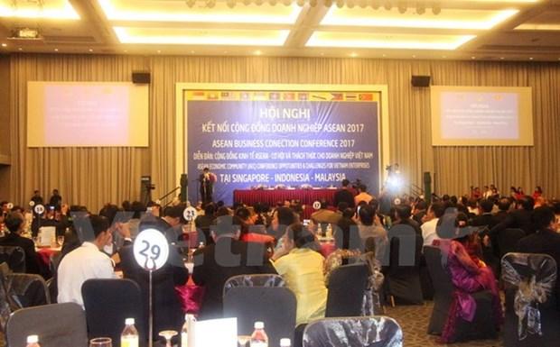 Conference de connexion des entreprises de l'ASEAN a Kuala Lumpur hinh anh 1