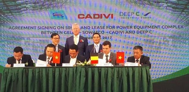 Hai Phong: mise en chantier d'une zone industrielle portuaire de 260 millions de dollars hinh anh 1